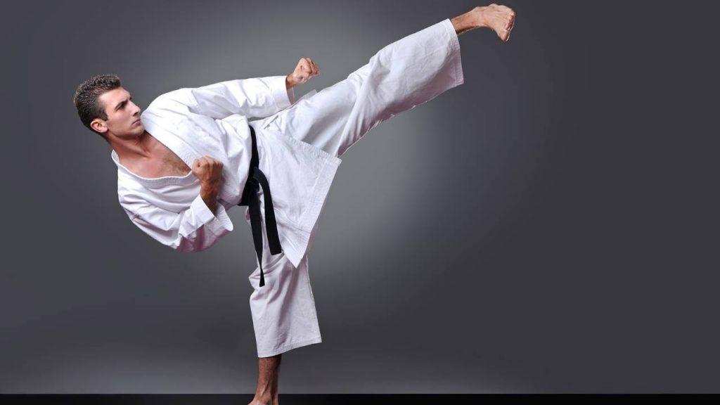 karate kick   high kick