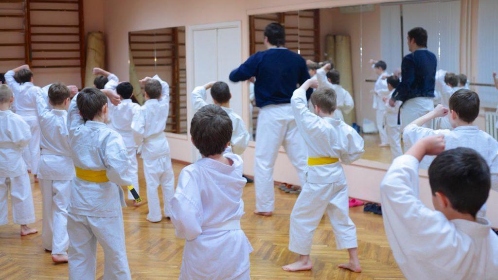 karate training for kids