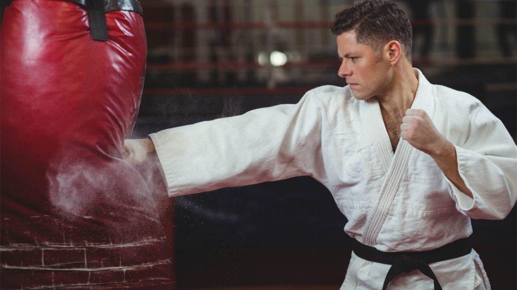 karate tips - Punching Bag Workout