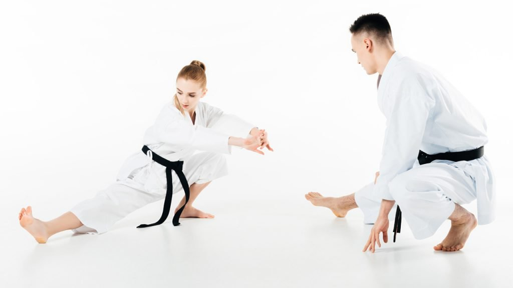 karate stretches