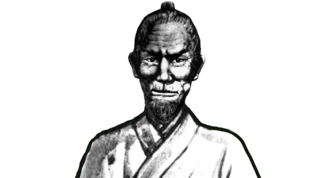 karate master: Matsumura Sokon