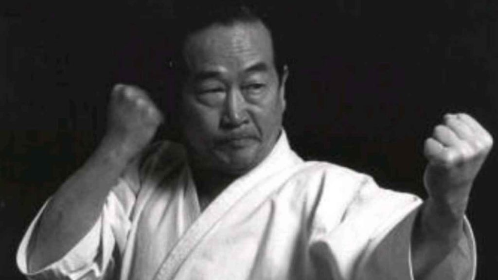karate master: Masatoshi Nakayama