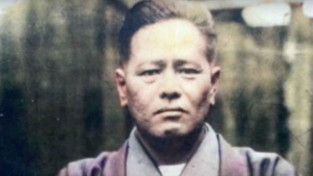 karate master: Chojun Miyagi