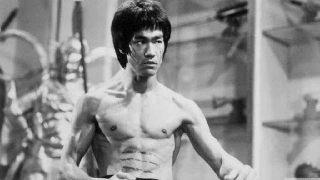 karate movie star: Bruce Lee