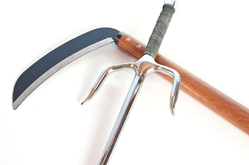 karate weapons | sai and kama