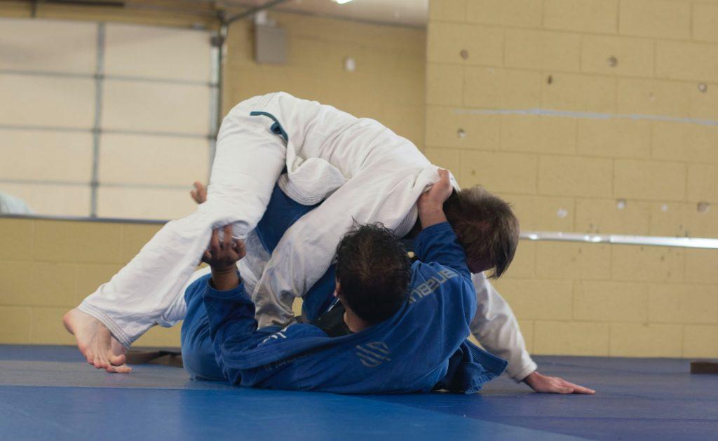 karate grappling