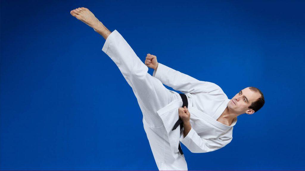 Karate Techniques - The Surprise Hook Kick