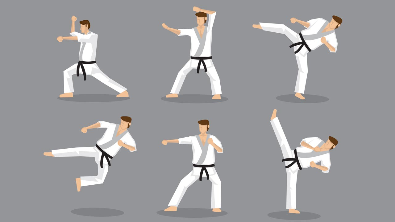 karate moves
