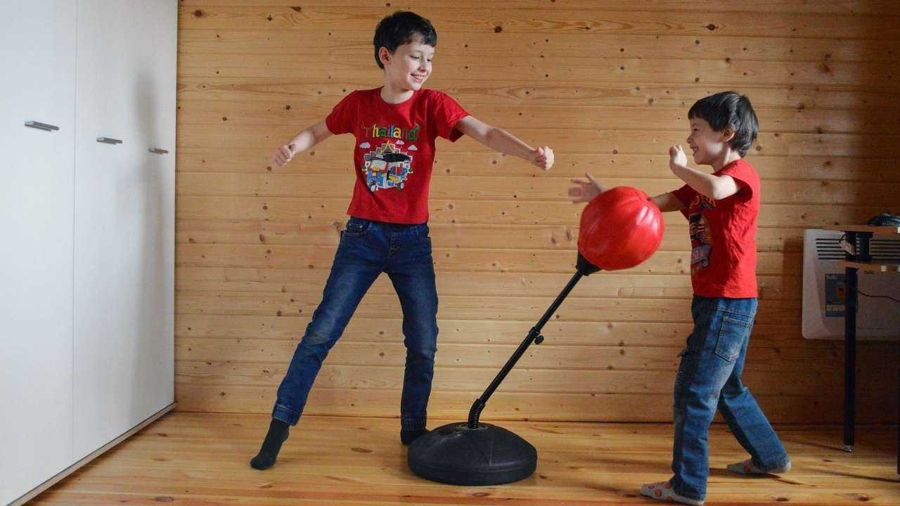 kids punching bag