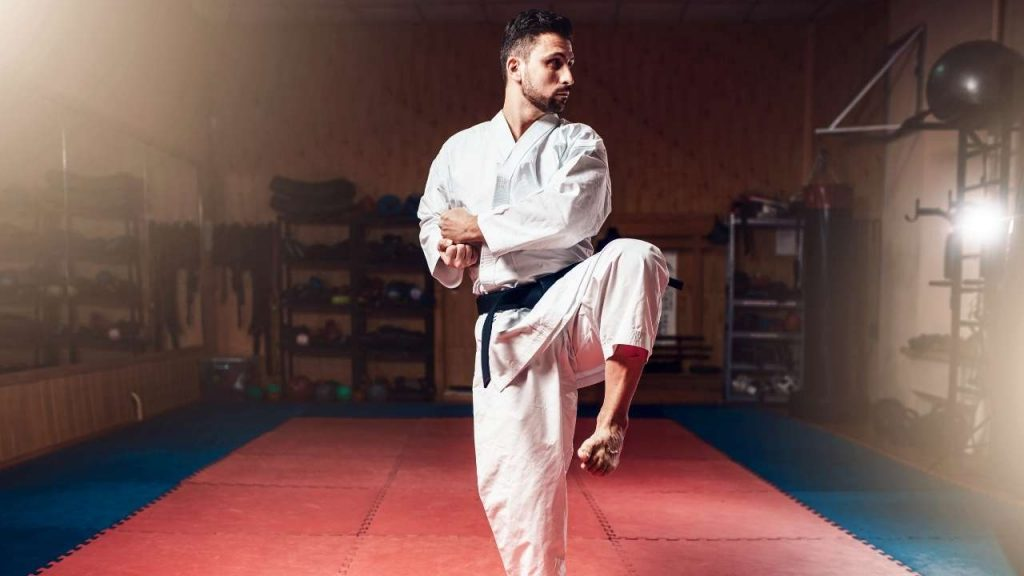karate training at home