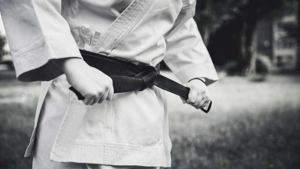 karate belts - black belt in karate