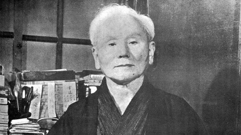 karate master: Gichin Funakoshi